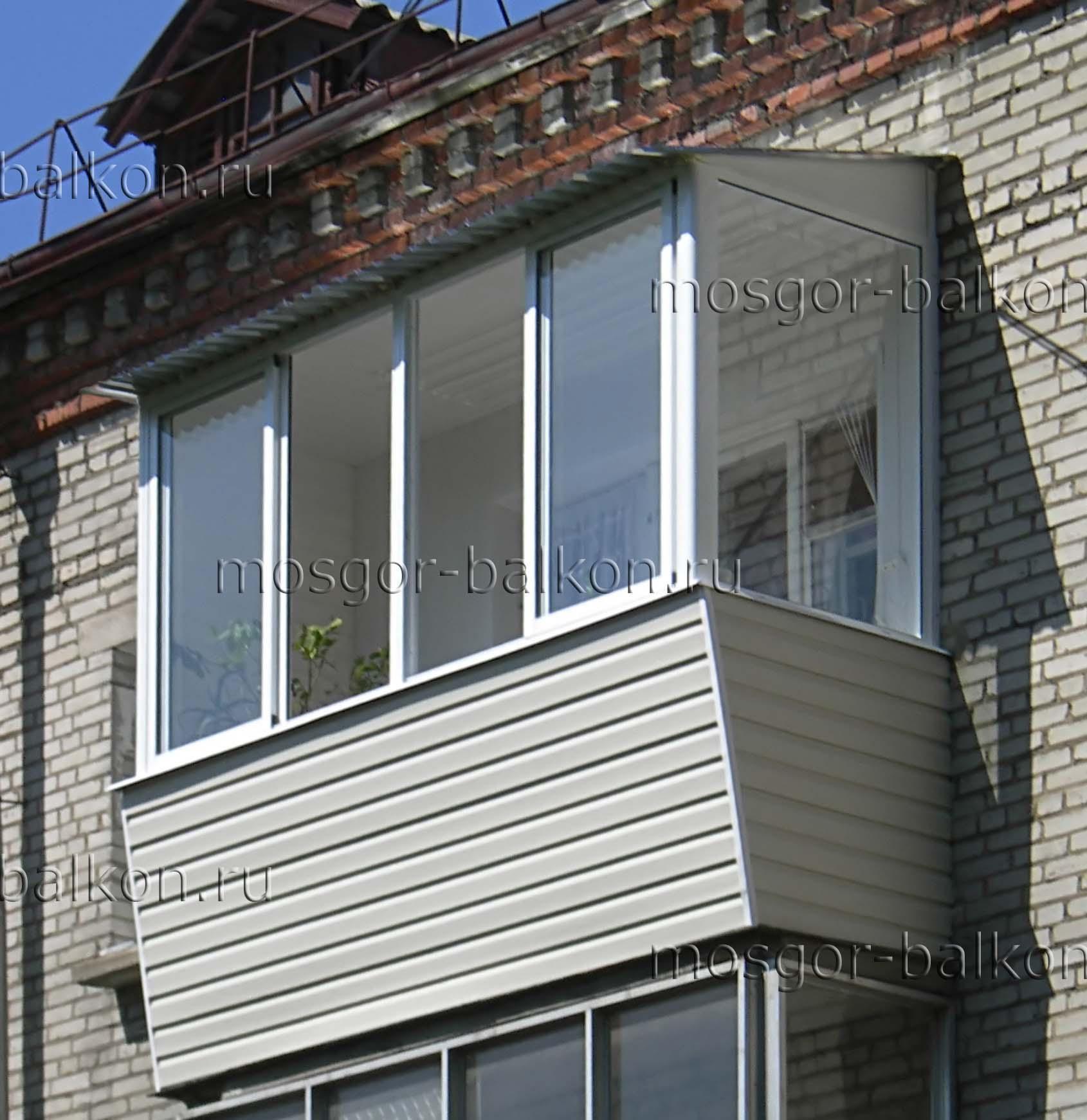 Остекление балкона в хрущевке. компания по остеклению балкон.