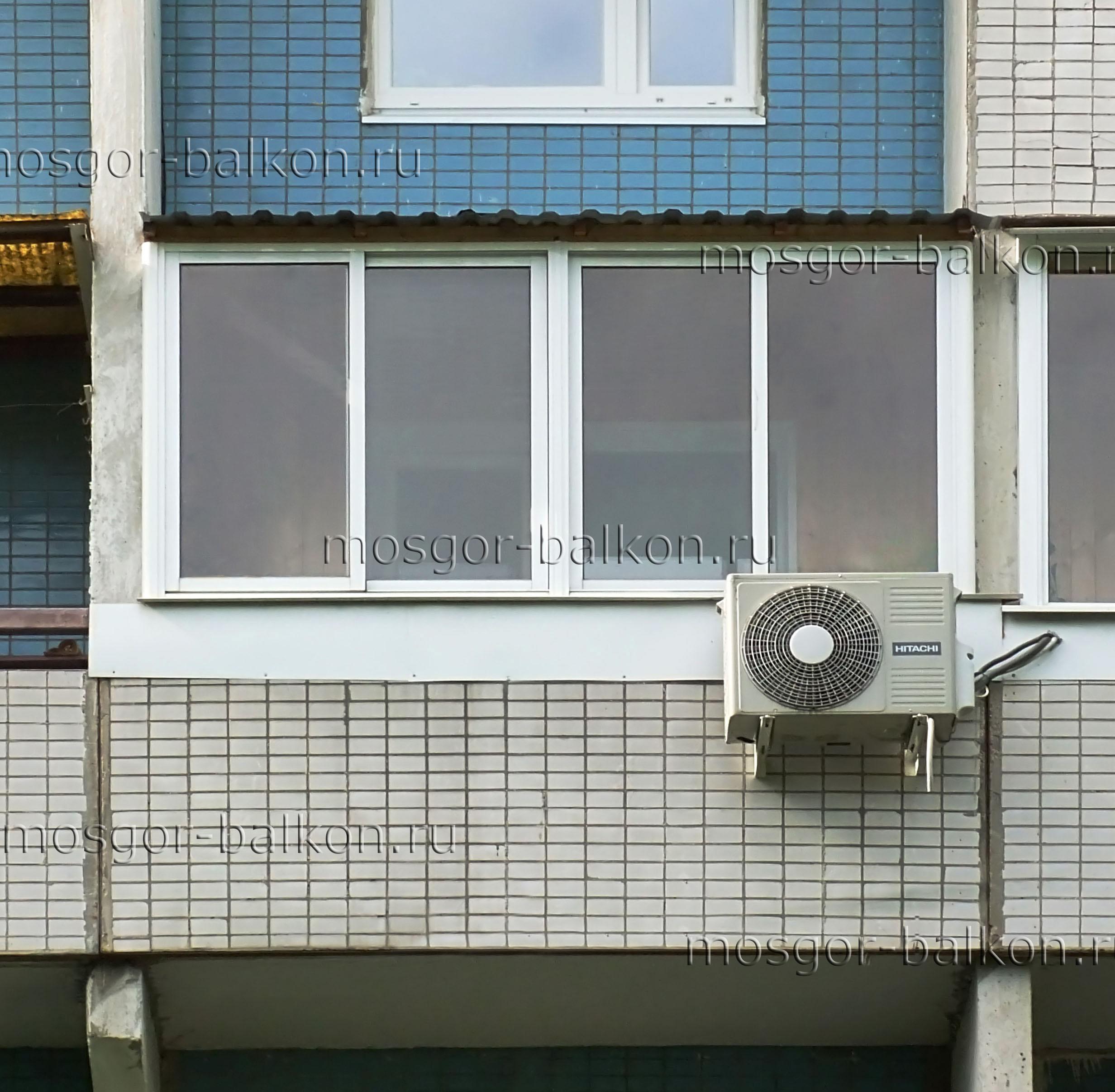 Остекление балконов с крышей. балкон с крышей в хрущевке - m.
