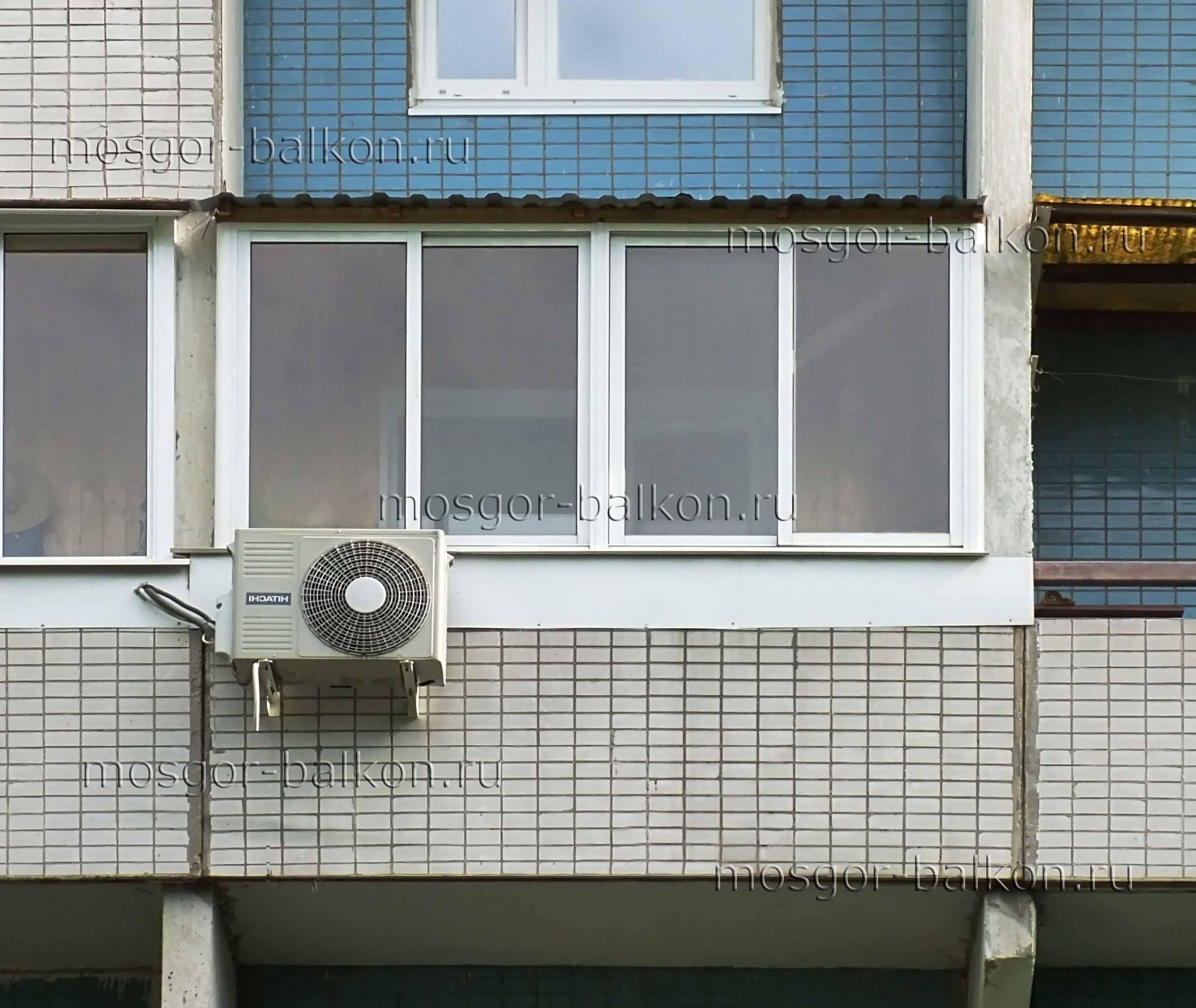 Остекление балконов п 46. недорого и качественно в москве - .